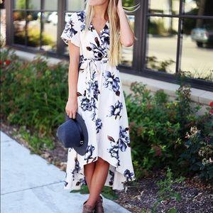 So Perla beautiful floral dress